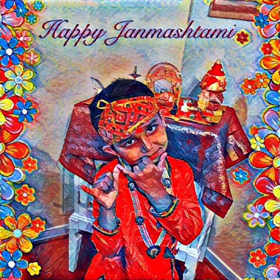 Celebrating Janmashtami Festival
