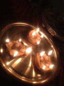 Home made Diyas
