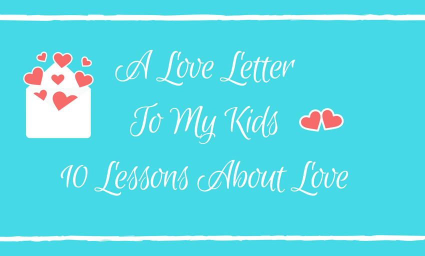 Love Lessons for Kids Today